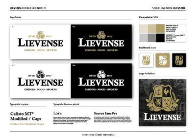 Cafe-Lievense-Logo's